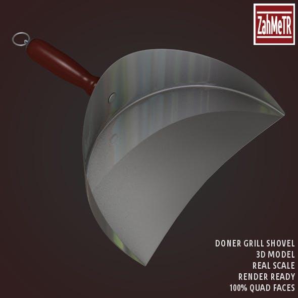 Doner Grill Shovel 3D Model