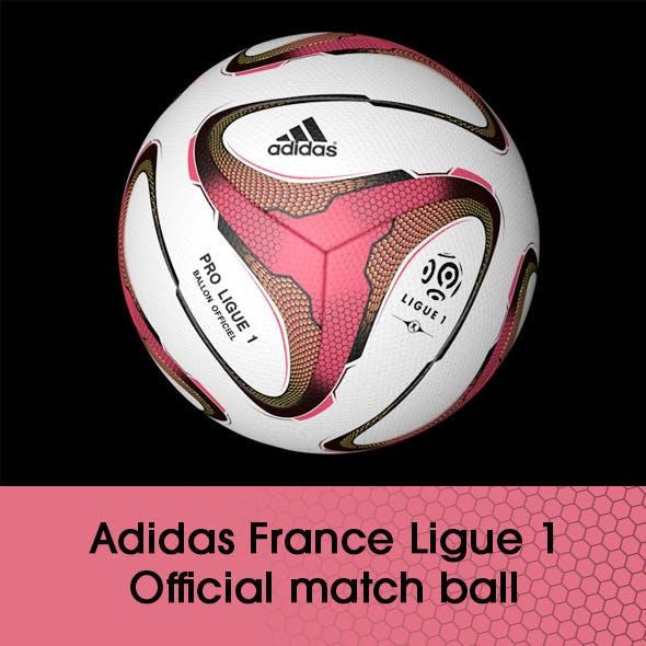 Adidas France Ligue 1 ball 3D model