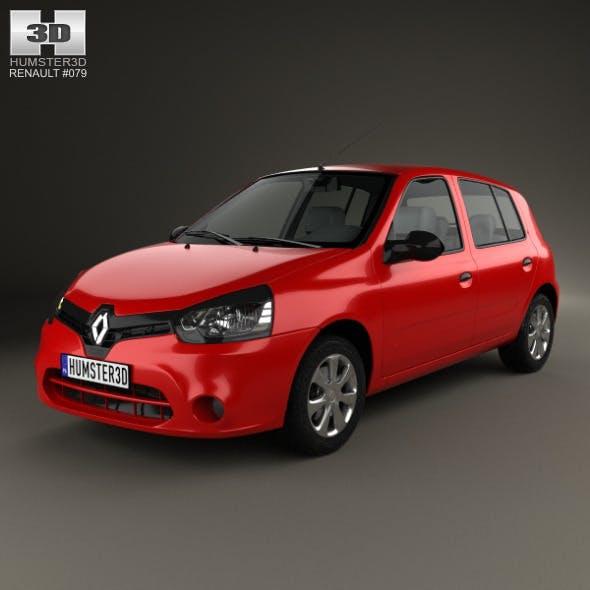 Renault Clio Mercosur 5-door hatchback 2013 - 3DOcean Item for Sale