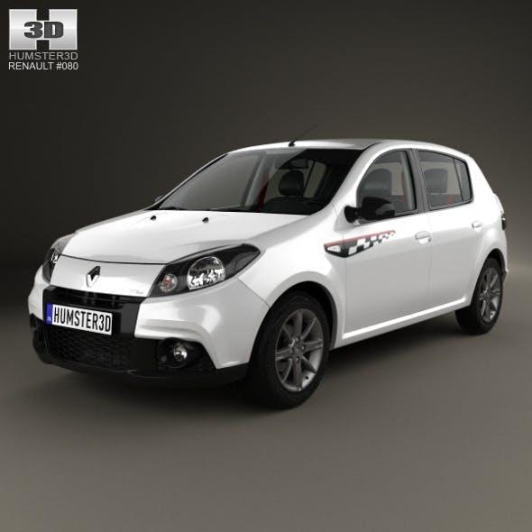 Renault Sandero GT Line 2012 - 3DOcean Item for Sale