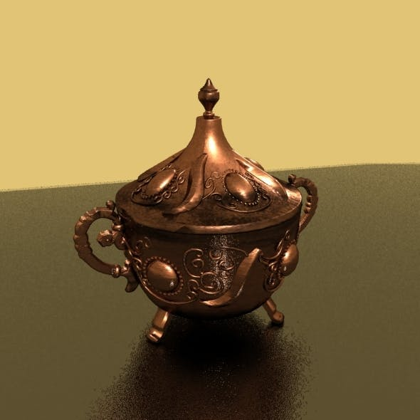 Antique Pot - 3DOcean Item for Sale