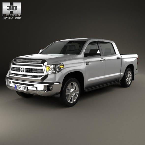 Toyota Tundra Crew Max 2013 - 3DOcean Item for Sale