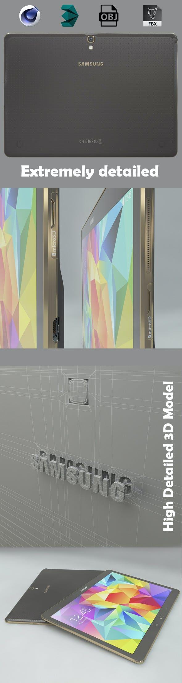 Samsung Tab S - 3DOcean Item for Sale