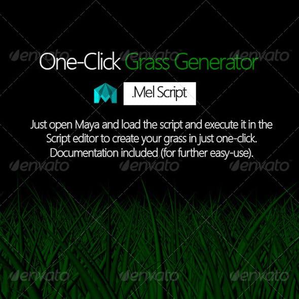 One Click Grass Generator Script