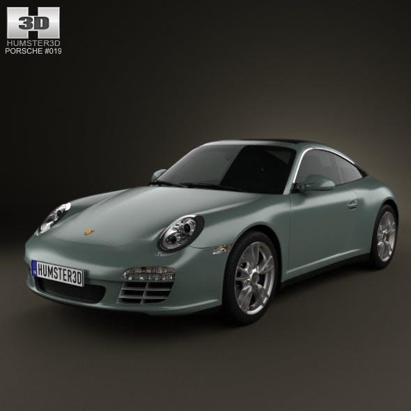 Porsche 911 Targa 4 2011  - 3DOcean Item for Sale