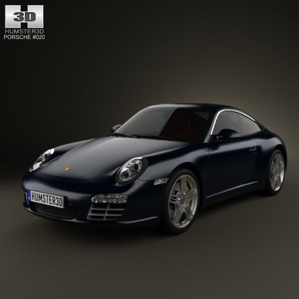 Porsche 911 Targa 4S 2011  - 3DOcean Item for Sale