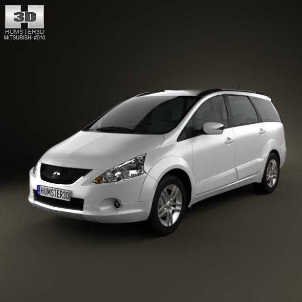 Mitsubishi Grandis 2012 - 3DOcean Item for Sale