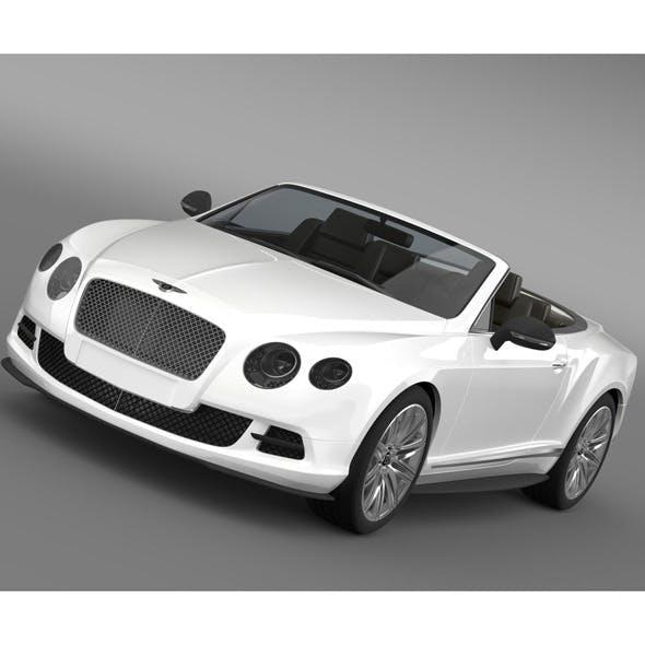 Bentley Continental GT Speed Convertible 2012