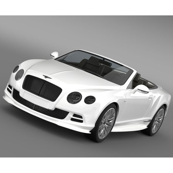 Bentley Continental GT Speed Convertible 2014 - 3DOcean Item for Sale