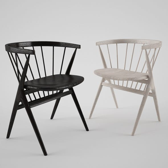 Sibast Furniture Chair - 3DOcean Item for Sale