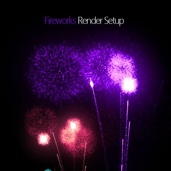 Fireworks - Render Setup