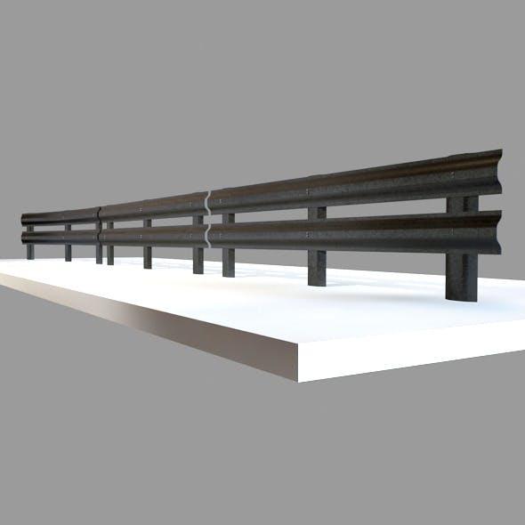 Barriers Street Prop - 3DOcean Item for Sale