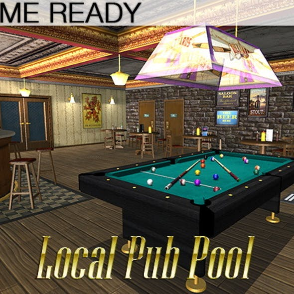 Game Ready Local Pub - Pool Room