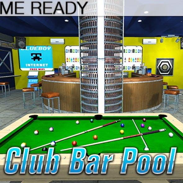 Game Ready Pool Bar