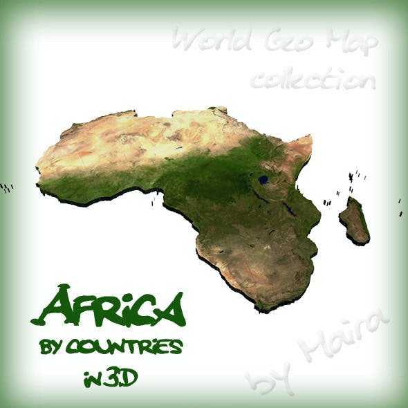 World Geo Map - Africa