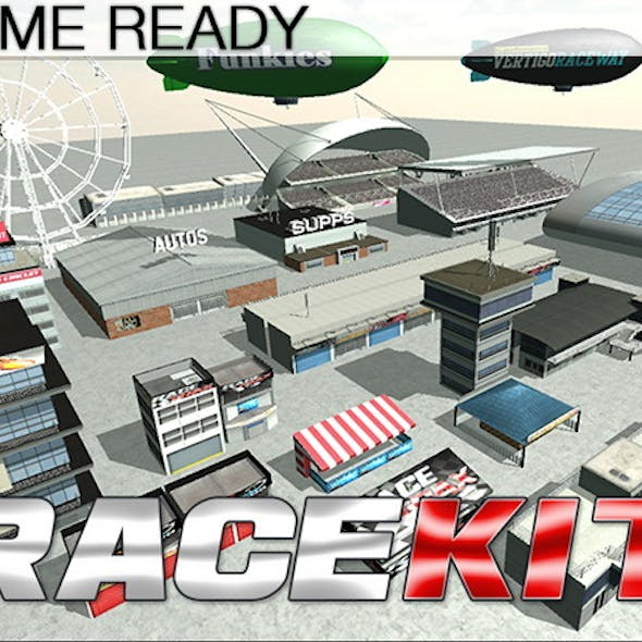 Game Ready Modular Stunt Race Track Kit