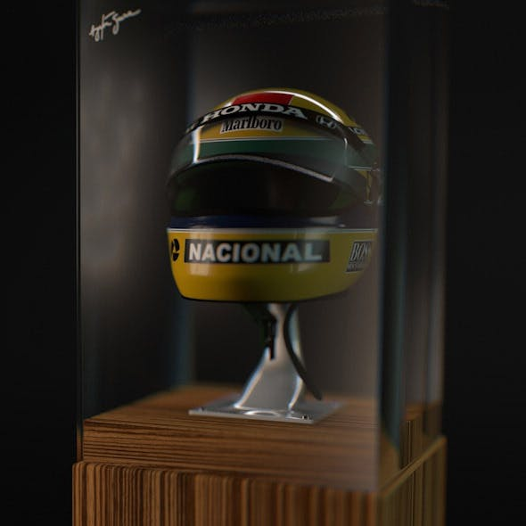 Senna Shoei X4 X-Four Helmet