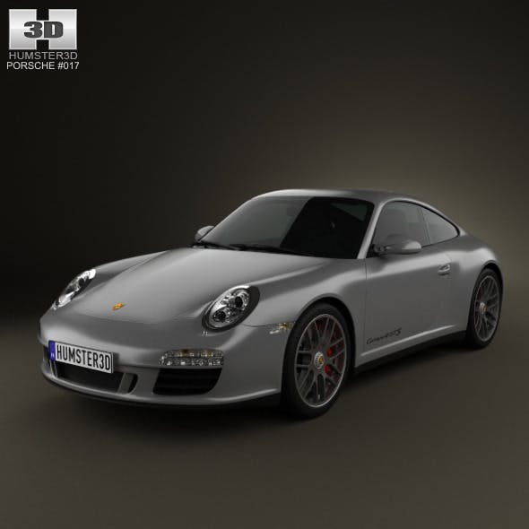 Porsche 911 Carrera 4GTS Coupe 2011 - 3DOcean Item for Sale