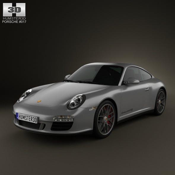 Porsche 911 Carrera 4GTS Coupe 2011 - 3DOcean Item for Sale