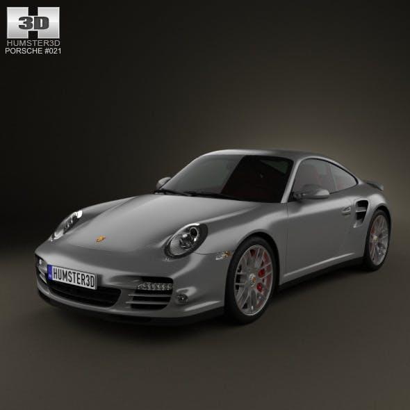 Porsche 911 Turbo Coupe 2011 - 3DOcean Item for Sale