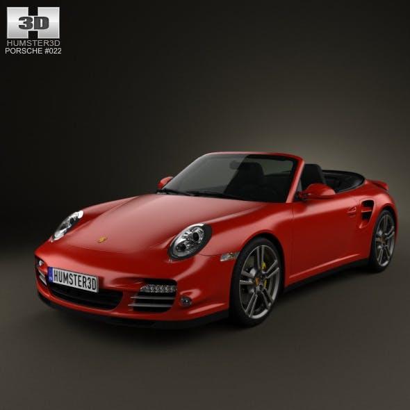 Porsche 911 Turbo Cabriolet 2011 - 3DOcean Item for Sale