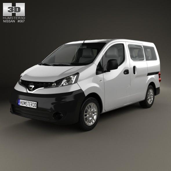 Nissan NV200 combi 2011 - 3DOcean Item for Sale