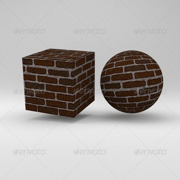 Brick Wall - 3DOcean Item for Sale