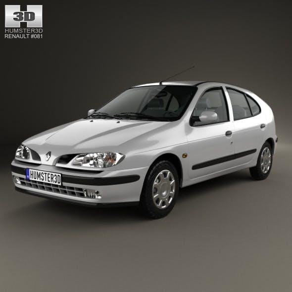 Renault Megane 5-door hatchback 1995 - 3DOcean Item for Sale