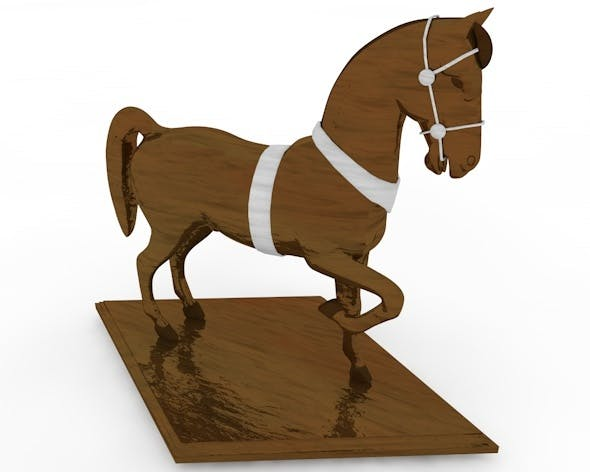 Horse Statue - 3DOcean Item for Sale
