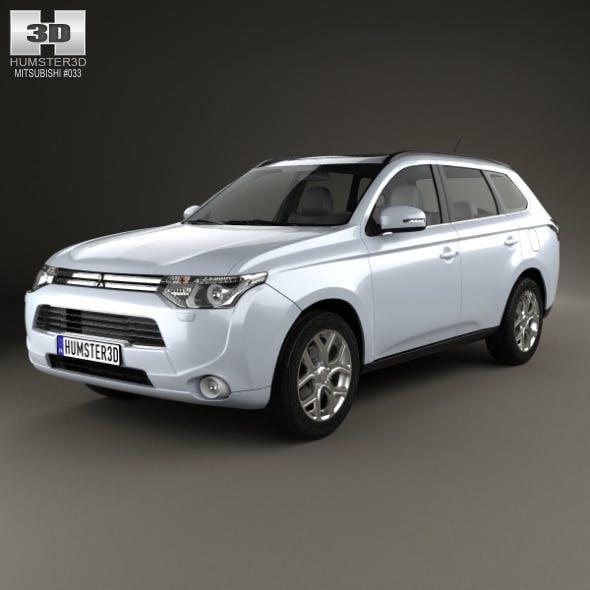 Mitsubishi Outlander PHEV 2013 - 3DOcean Item for Sale