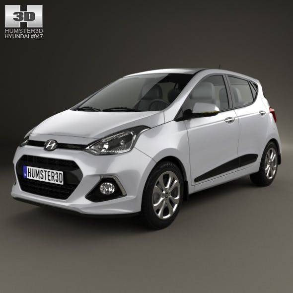Hyundai i10 2014 - 3DOcean Item for Sale