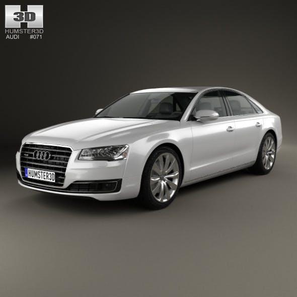 Audi A8 (D4) 2014 - 3DOcean Item for Sale