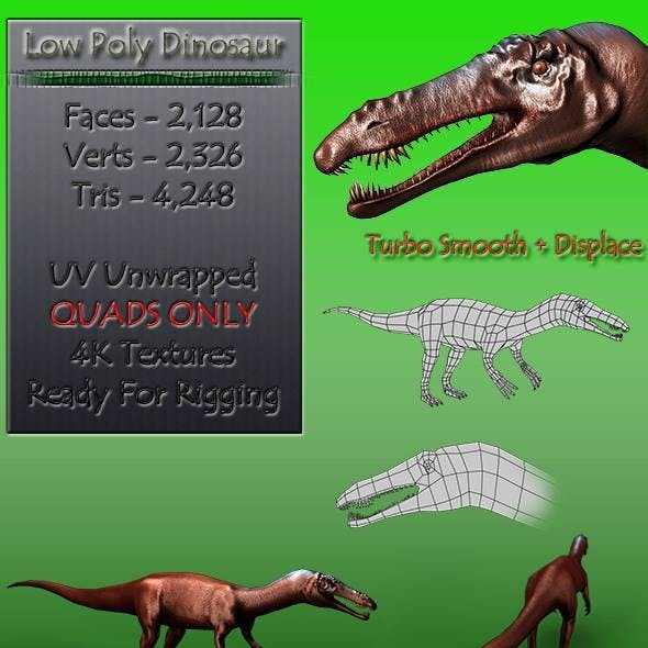Low Poly Dinosaur