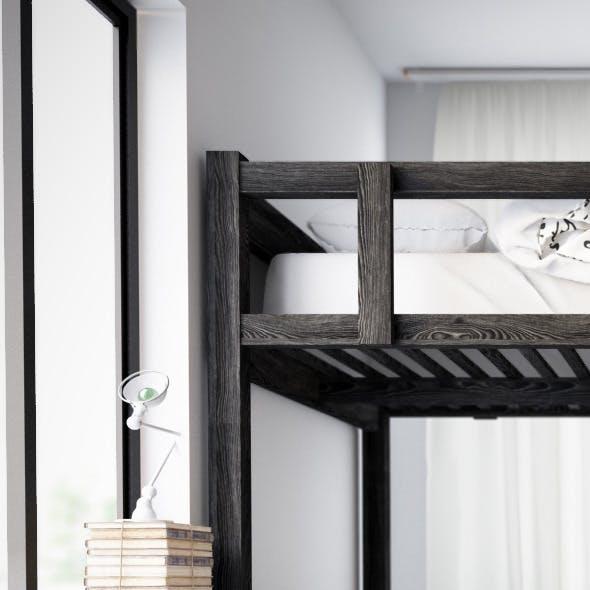 Ikea Black Wood