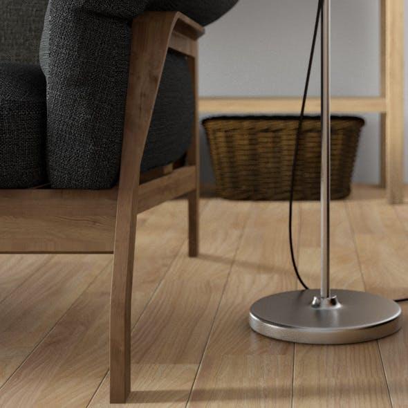 Oak Hardwood Floor - 3DOcean Item for Sale