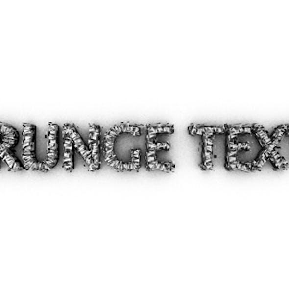 Grunge Text