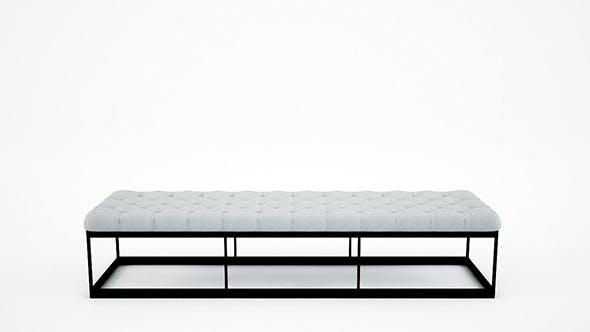 Eichholtz Bench York - 3DOcean Item for Sale