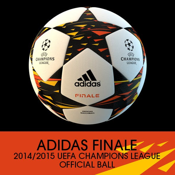 Adidas Finale 2014/2015 Champions League Ball - 3DOcean Item for Sale