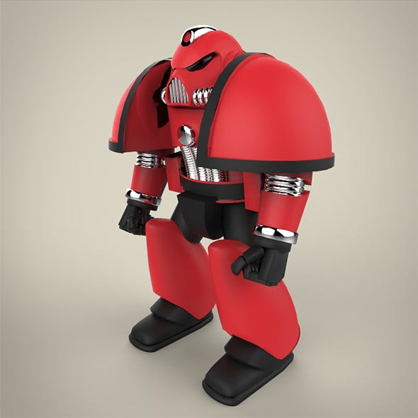 Angry Robot Finalo - 3DOcean Item for Sale