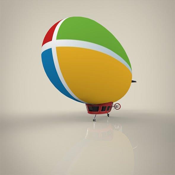 Blimp - 3DOcean Item for Sale