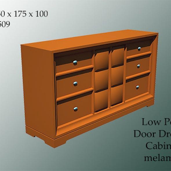 door dresser cabinet melamic