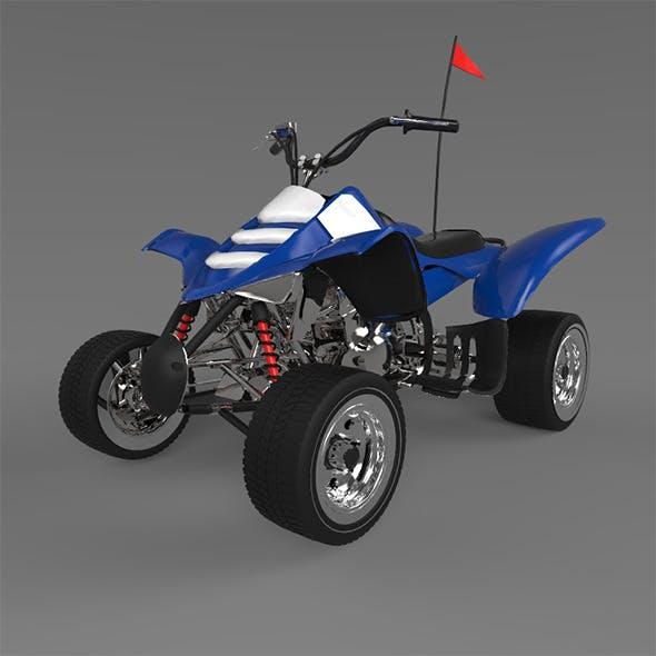 Ducati Quadricycle - 3DOcean Item for Sale