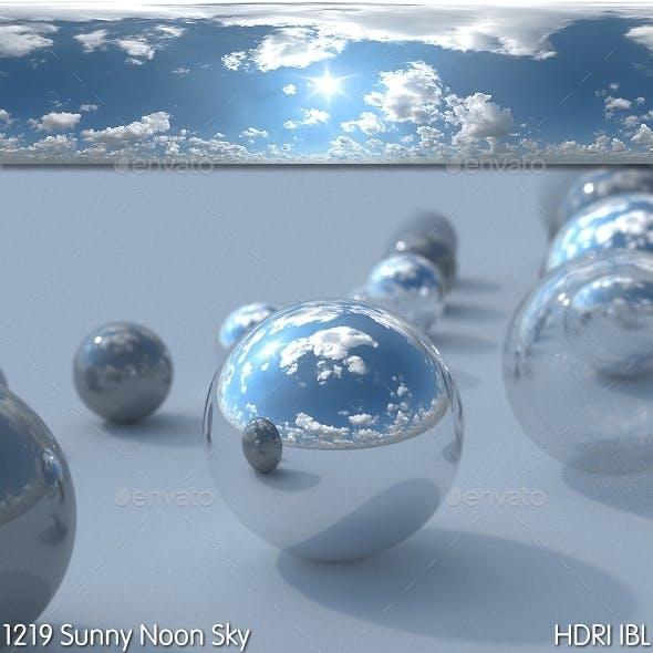 HDRI IBL 1219 Sunny Noon Sky