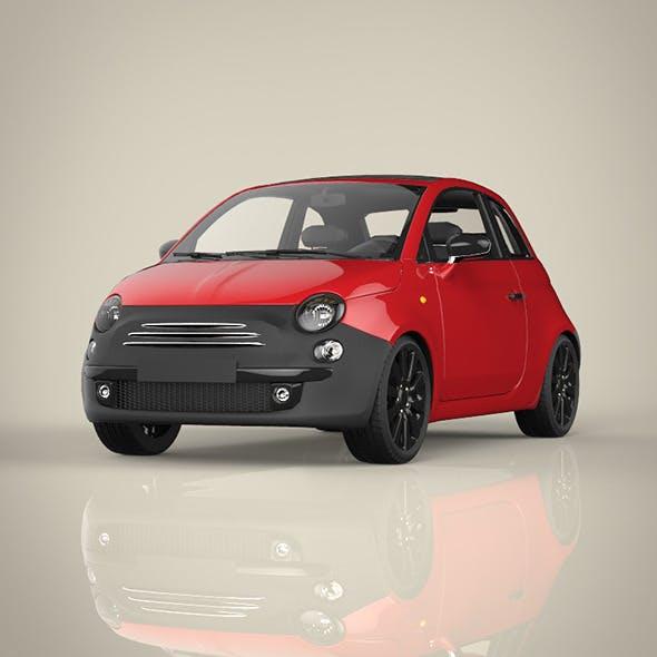 Mini Classic Car - 3DOcean Item for Sale