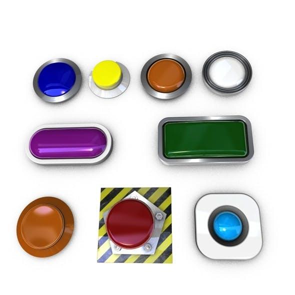 3D buttons.