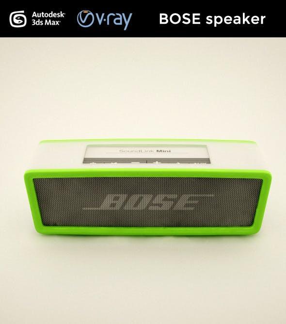 BOSE speaker - 3DOcean Item for Sale