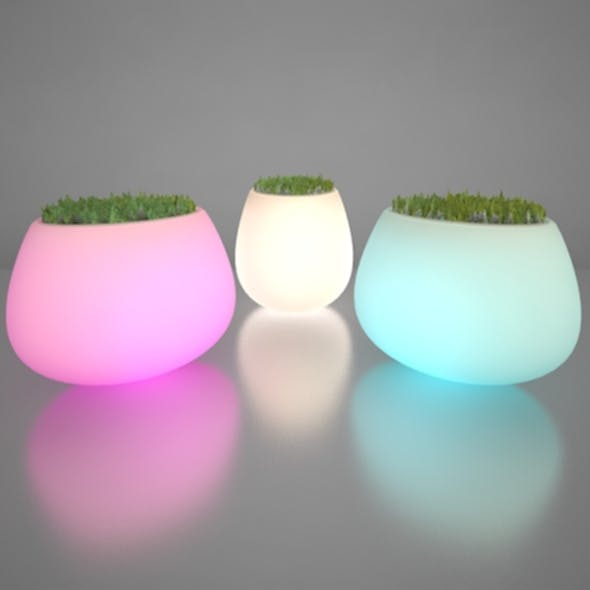 Illuminated Planter 2