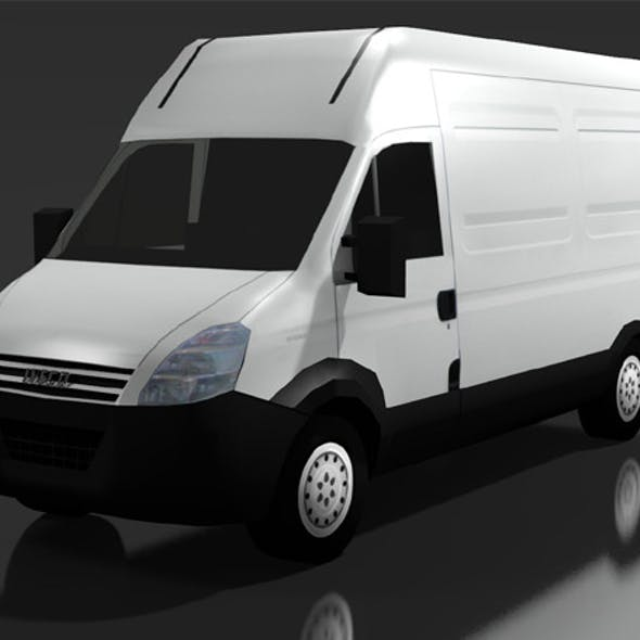 LOW POLY IVECO DAILY 50C VAN