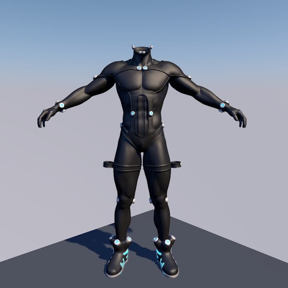 GANTZ BODY SUIT 3D MAN
