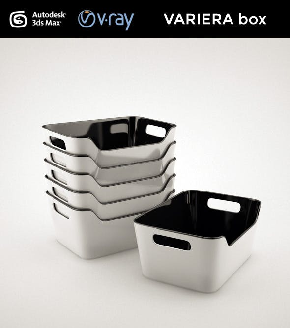 VARIERA box - 3DOcean Item for Sale